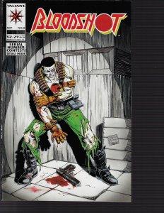 Bloodshot #8 (Valiant, 1993) NM