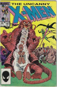 Uncanny X-Men #187a