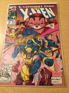 X-Men #14 x-cutioner's Song
