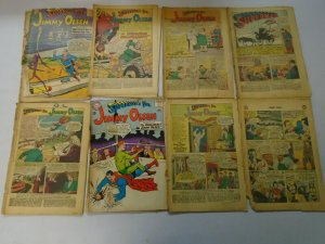 Silver + Bronze age Jimmy Olsen reader comic lot 40 different issues