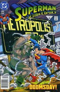 Dc Comics Action Comocs #684 and #696 DOOMSDAY