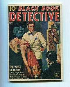 BLACK BOOK DETECTIVE-NOV/1941-REPRODUCTION-VOICE OF DOOM-MYSTERY