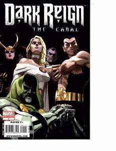 Lot Of 2 Marvel Comic Books Dark Reign #1 and Annihilation Nova Corps #1 BH52