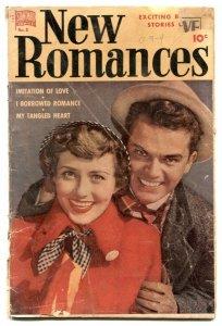 New Romances #8 1951- My Tangled Art- Golden Age G