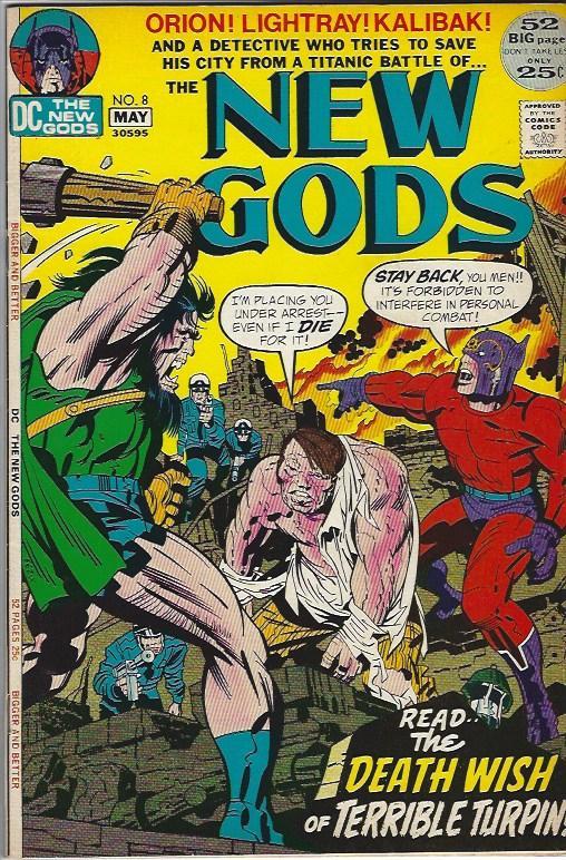 NEW GODS #8 VFN $12.50