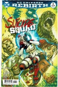 Suicide Squad #6 (2016 v4) Harley Quinn NM