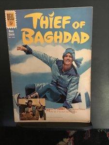 Four Color #1229 (1961) Thief of Baghdad Errol Flynn photo cover! FN+ Wow!