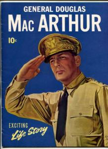 General Douglas MacArthur Magazine 1942-Exciting Life Story Dell