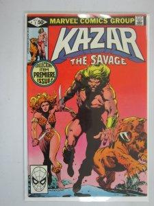 Ka-Zar the Savage #1 Direct edition 6.0 FN (1981)