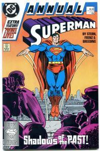 Superman Annual #2 1988- First Post-Crisis Cadmis NM-