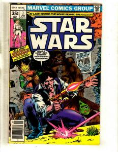 Star Wars # 7 VF Marvel Comic Book Han Solo Chewbacca Boba Fett Jawa R2D2 WS9