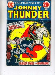 Johnny Thunder # 2 strict FN- appearance Nighthawk