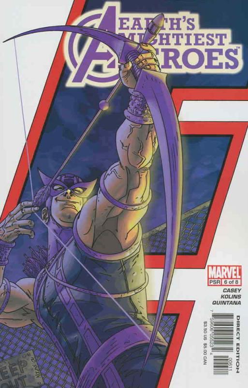 Avengers: Earth's Mightiest Heroes #6 VF/NM; Marvel | save on shipping - details
