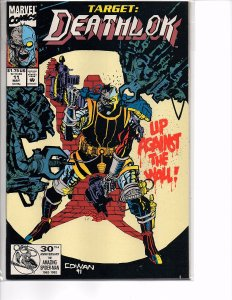 Marvel Comics Deathlok #11 1st app. High-Tech & Terrordome NM Denys Cowan