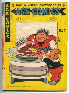 Ace Comics #84 1944- Phantom- Jungle Jim incomplete