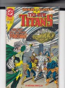 The New Titans #81 (1991)