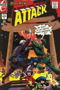 Attack (4th Series) #13 VG; Charlton | low grade comic - save on shipping - deta