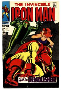 IRON MAN #2 1968-Robot cover-Marvel Comic Book
