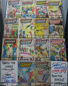 JUSTICE LEAGUE OF AMERICA(DC,1960) #5,8-14,18-21,24,25 great readers collection!