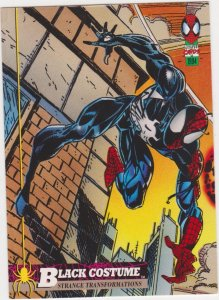 1994 Fleer Spider-Man #19 Black Costume