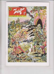Zap Comix #9 VF/NM (5th) print - gilbert shelton - robert crumb - s. clay wilson