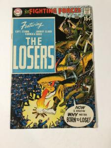 Our Fighting Forces 123 7.0 Fn/vf Fine / Very Fine Dc Comics 1st Losers