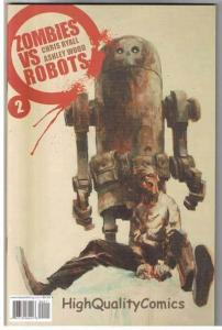 ZOMBIES vs ROBOTS #2, NM+, Horror, IDW, Walking Dead, 2006, more in store