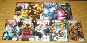 Ultimate Power #1-9 VF/NM complete series - squadron supreme power - bendis set