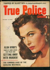 TRUE POLICE CASES-DEC 1956-PHANTOM BLOND-WEINBERGER KIDNAP-ALAN HYND G