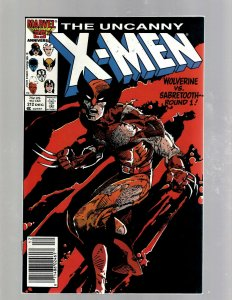Uncanny X-Men # 212 NM- Marvel Comic Book Beast Angel Cyclops Magneto SM19