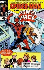 Spider-Man, Power Pack #1B FN; Marvel   save on shipping - details inside