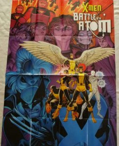 X-MEN BATTLE OF THE ATOM Promo Poster, 24 x 36, 2013, MARVEL, Unused 298