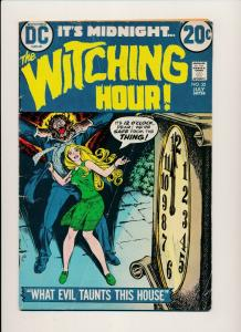 DC Comics It's Midnight, The Witching Hour #32 ~ G/VG 1973 (PF541)