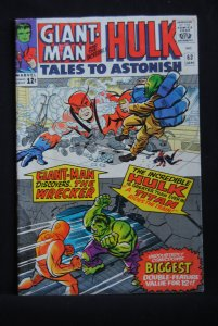 Tales to Astonish #63, 6.0 FN, Kirby Cover