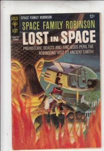 Space Family Robinson, Lost in Space #24 (Oct-67) FN Mid-Grade Will Robinson,...