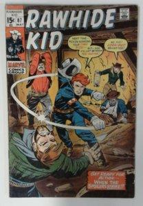 Rawhide Kid #87 Marvel Comic 1970 Bronze Age FN-  Western Cowboy Comics