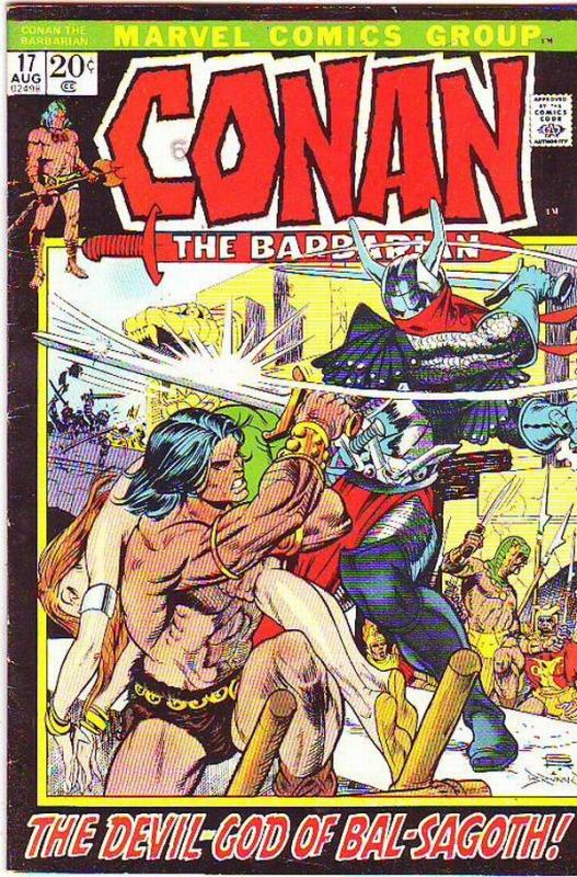 Conan the Barbarian #17 (Aug-72) FN/VF Mid-High-Grade Conan the Barbarian