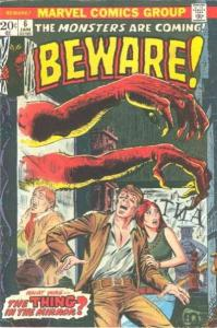 Beware (1973 series) #6, VG- (Stock photo)