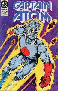 Captain Atom (1987 series) #40, VF+ (Stock photo)