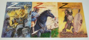 Zulunation #1-3 VF/NM complete series - historical account of zulu war in africa