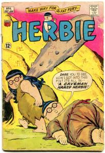 HERBIE COMICS #6 1964-CAVEMAN-FAT FURY-ACG-WHITNEY ART G