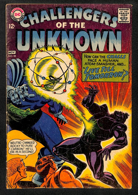 Challengers of the Unknown #58 (1967)