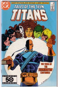 Tales of the Teen Titans   #54 FN/VF
