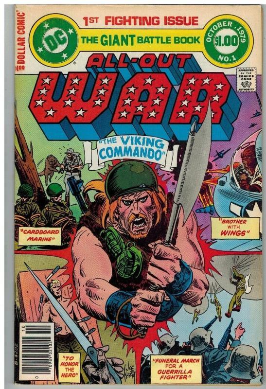 ALL OUT WAR (1979) 1 VG-F ($1 CVR) Oct. 1979