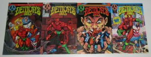 Demon's Tails #1-4 VF/NM complete series - roland mann/paul pelletier  adventure