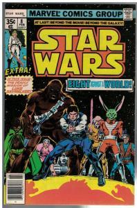 STAR WARS 8 VG-F Feb. 1978