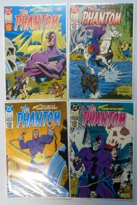 Phantom (2nd Series), Set:#1-4, Average 8.5/VF+ (1988)