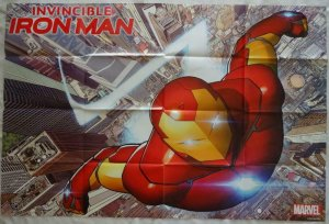 INVINCIBLE IRON MAN Promo Poster, 24 x 36, 2015, MARVEL, Unused 180