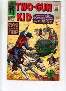 Two-Gun Kid #81 (May-66) VG+ Affordable-Grade Two-Gun Kid