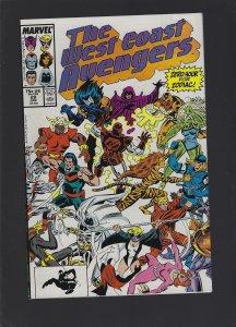 West Coast Avengers #28 (1988)